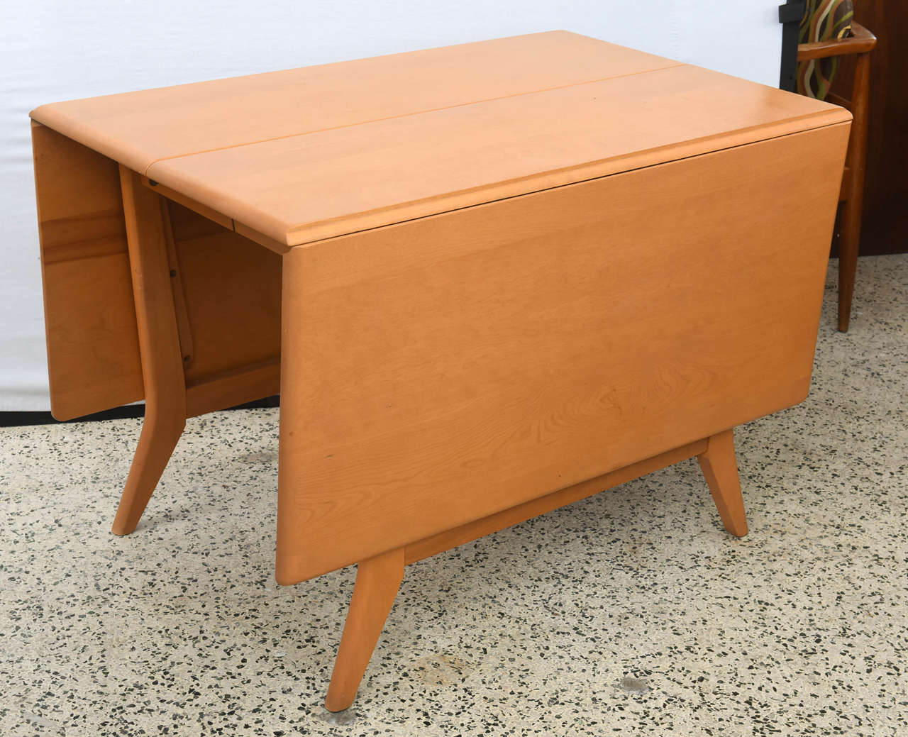 Dining Room Tables With Leaves maple heywood wakefield drop-leaf dining table, 1950s saturday