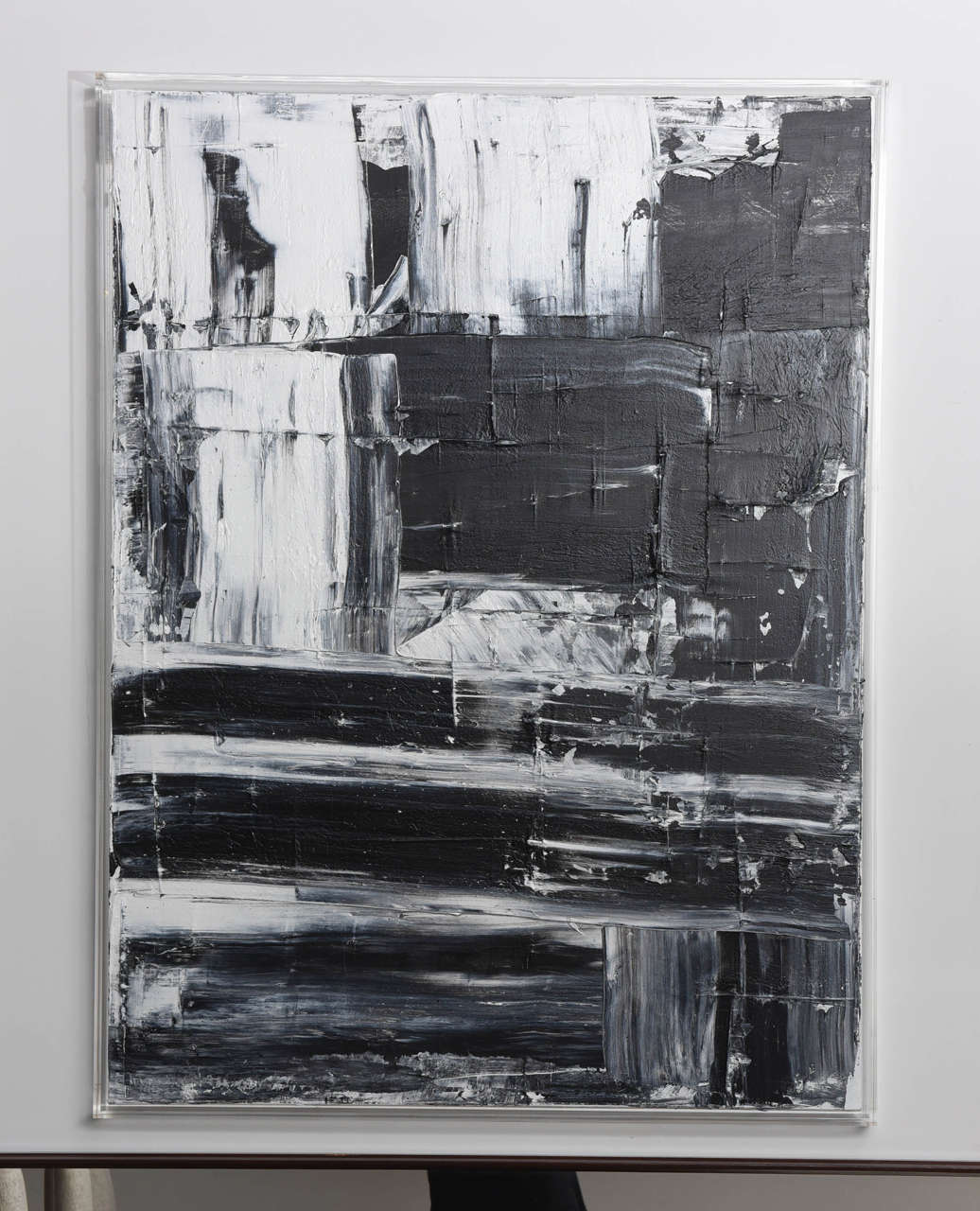 Abstract original oil on canvas.