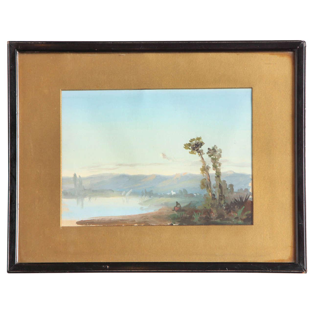 19th Century Irish Watercolor