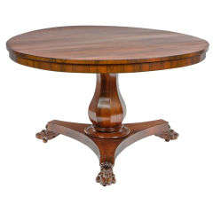 Early 19th Century William IV Centre Table