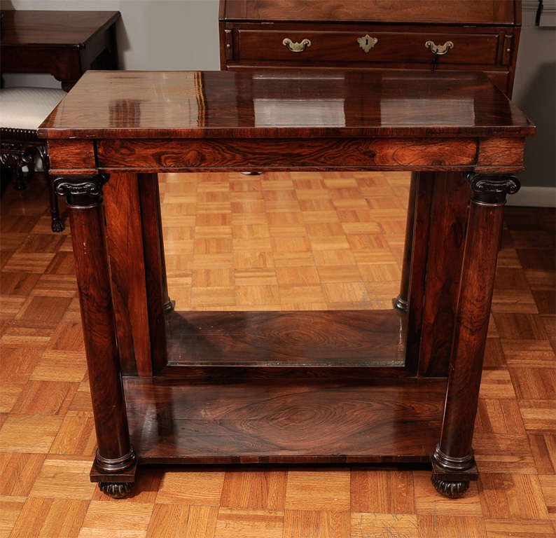 19th Century Console Table 9