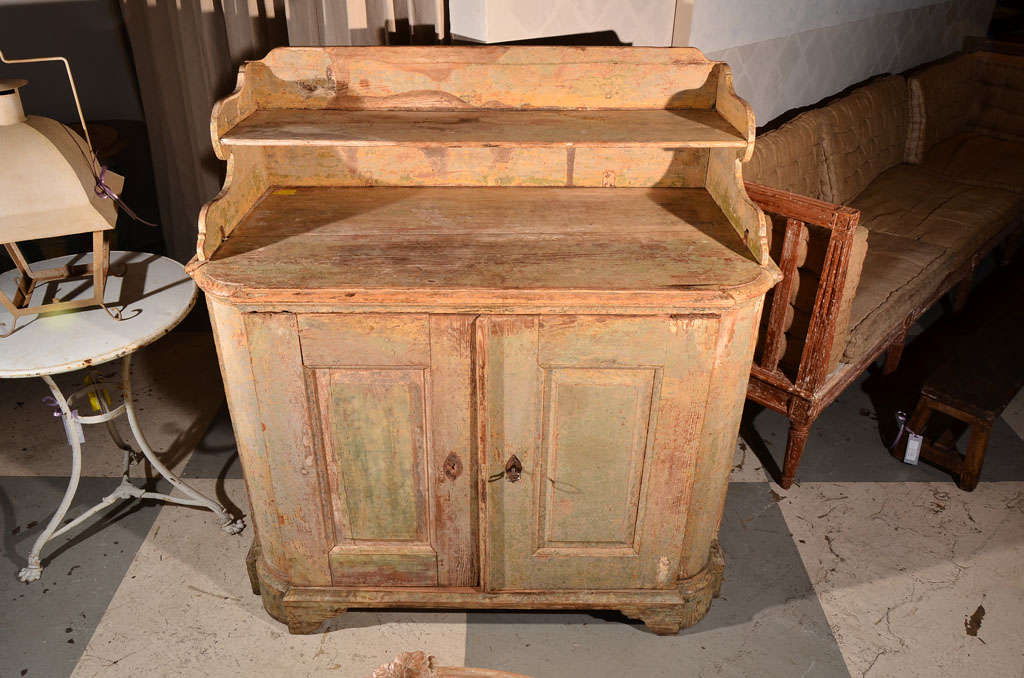 18th Century Swedish Buffet In Good Condition For Sale In Houston, TX