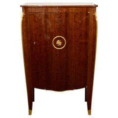 Fine Walnut Cabinet by Jules Leleu