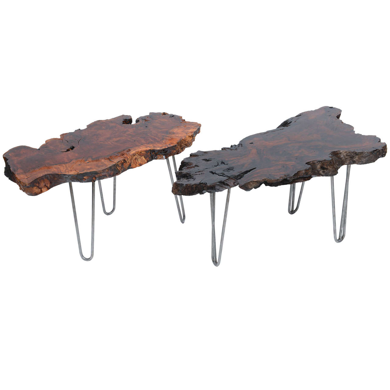 Redwood Coffee Table: Gorgeous Redwood Coffee Table At 1stdibs