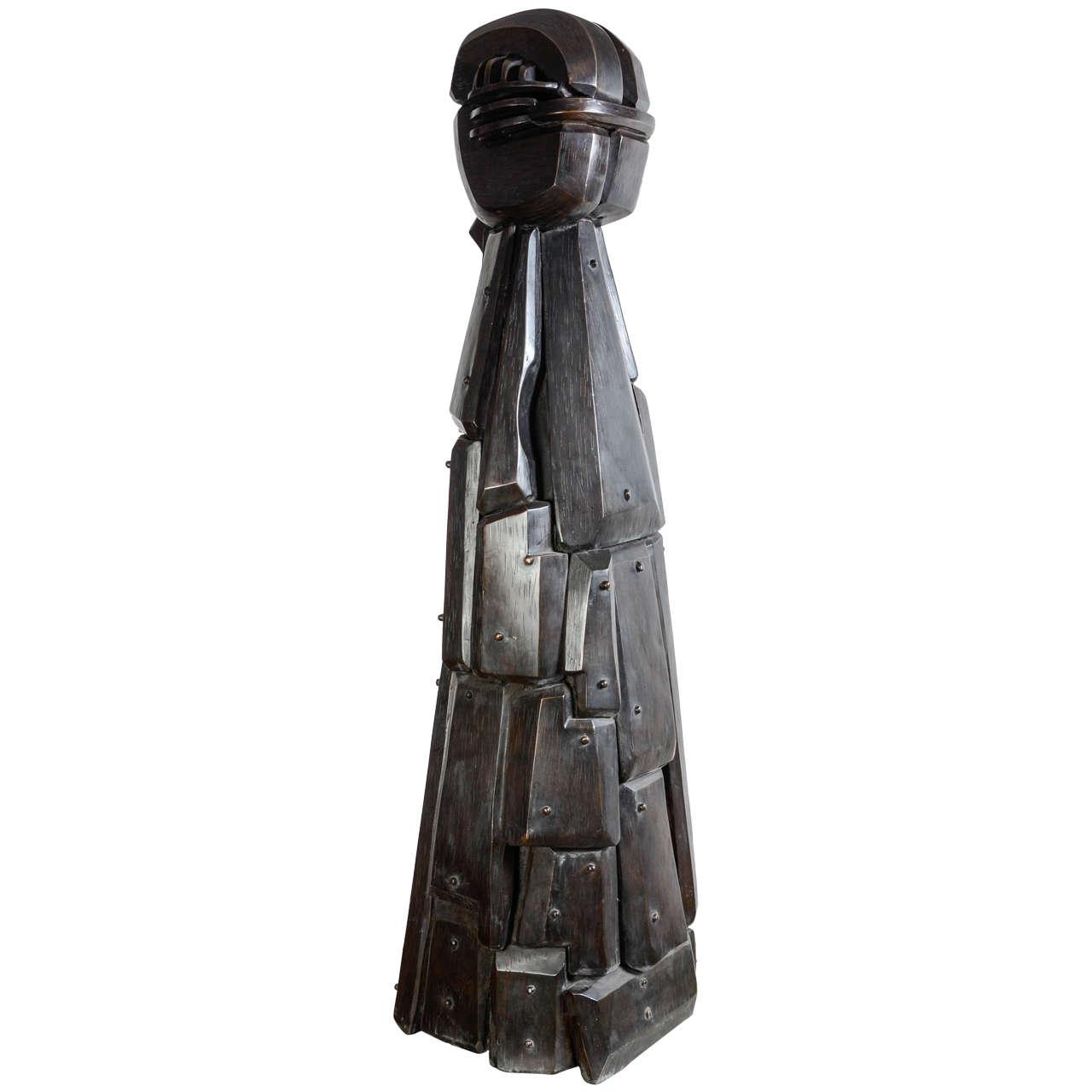 Menina Sculpture by J.Subira-Puig