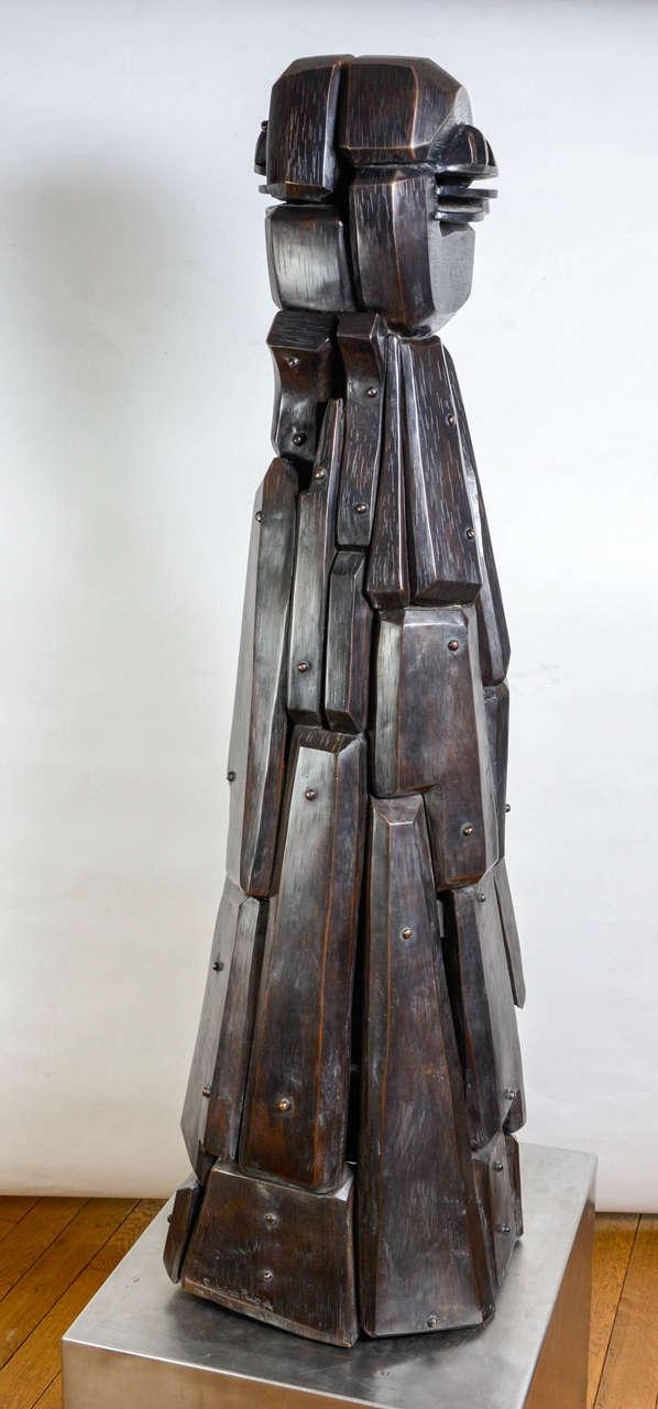 Spanish Menina Sculpture by J.Subira-Puig For Sale