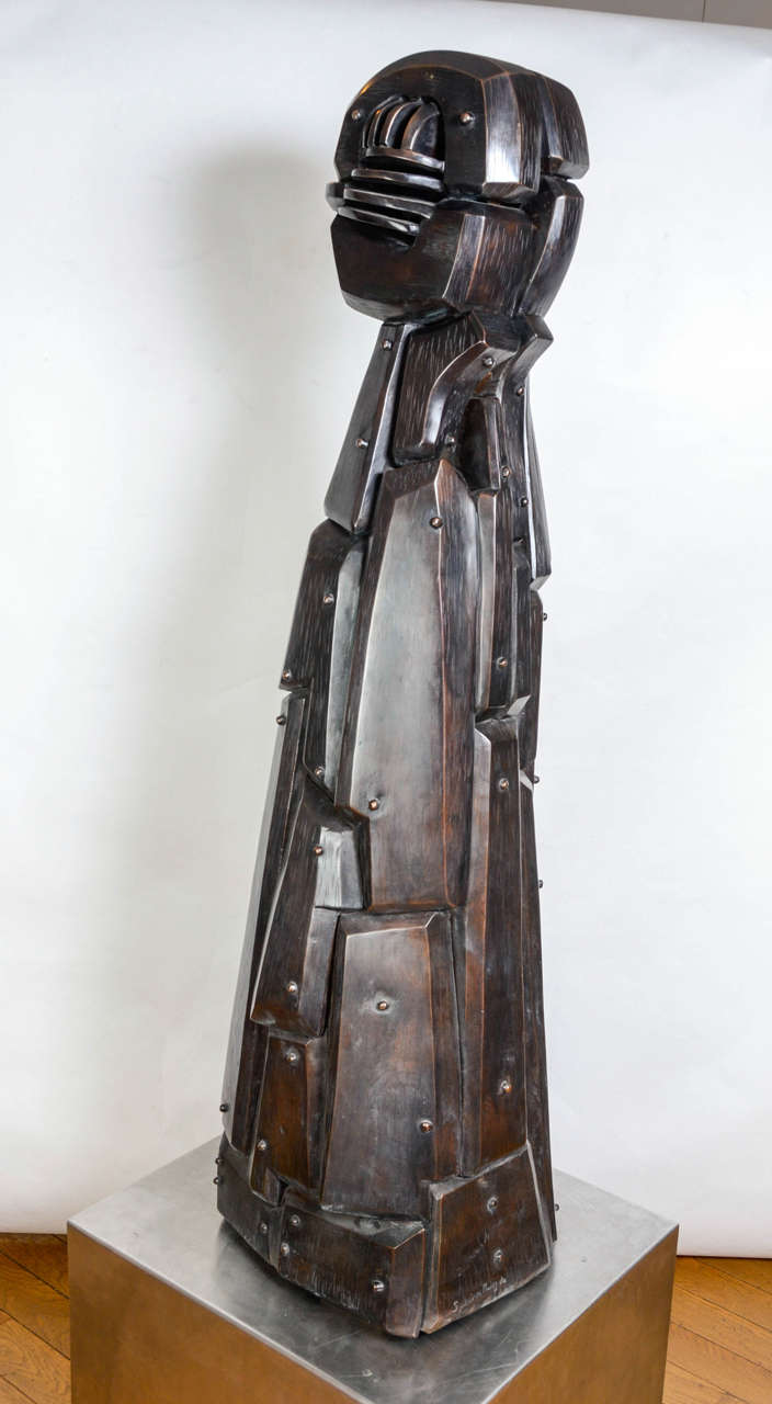 Menina Sculpture by J.Subira-Puig In Good Condition For Sale In Paris, FR