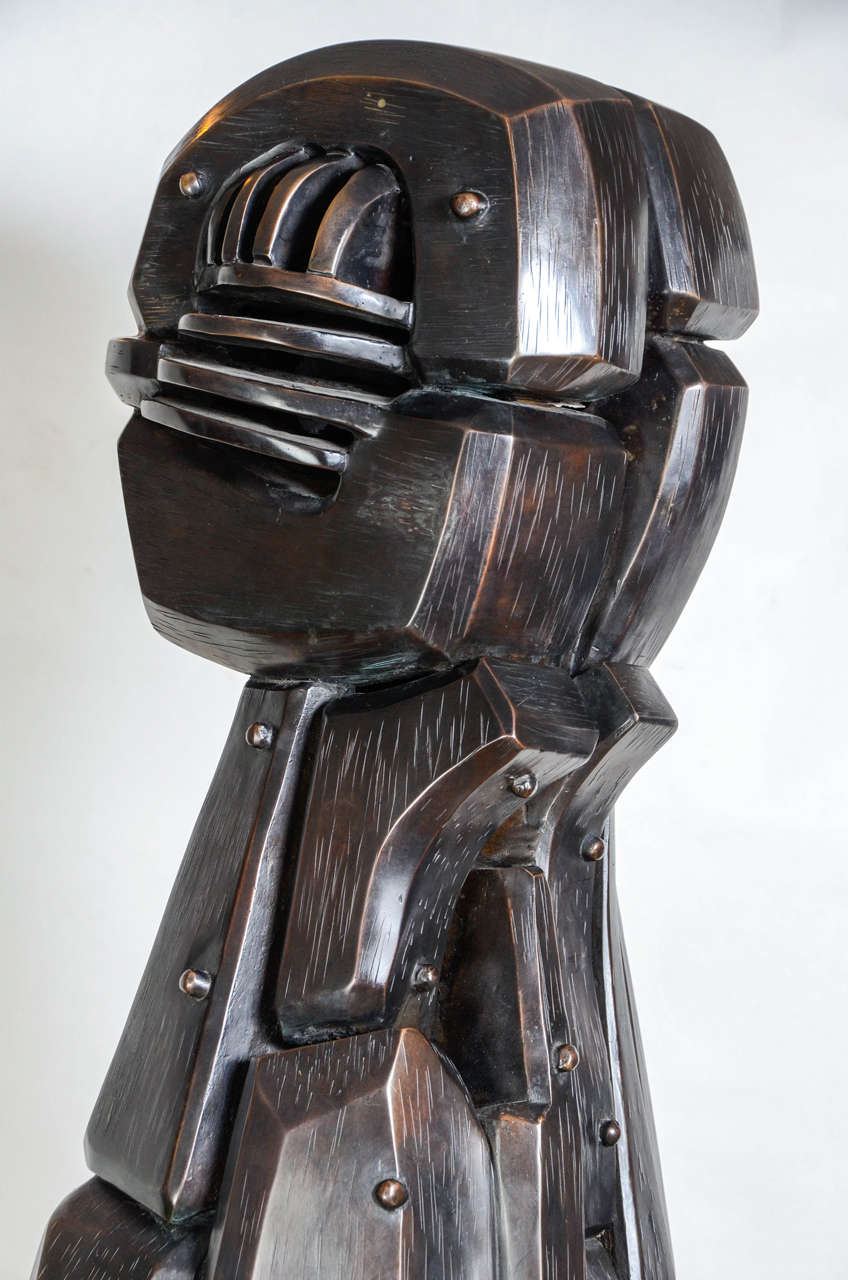 20th Century Menina Sculpture by J.Subira-Puig For Sale