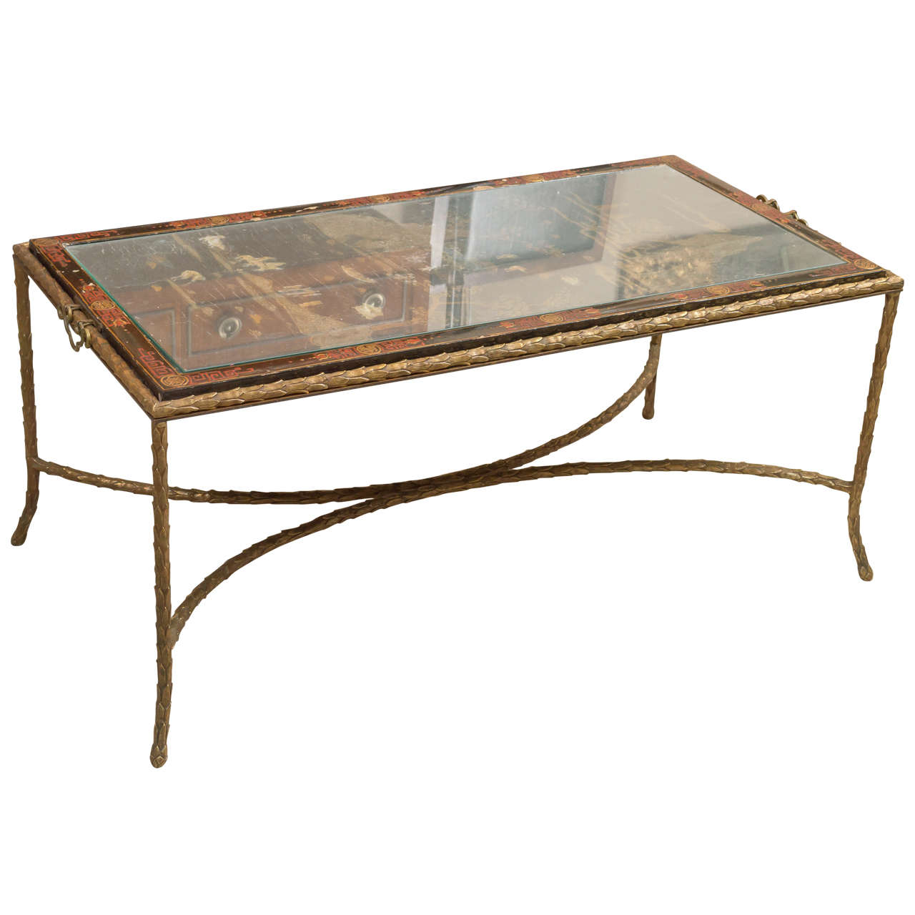 Charmant Maison BAGUES Chinoiserie Cocktail Table For Sale