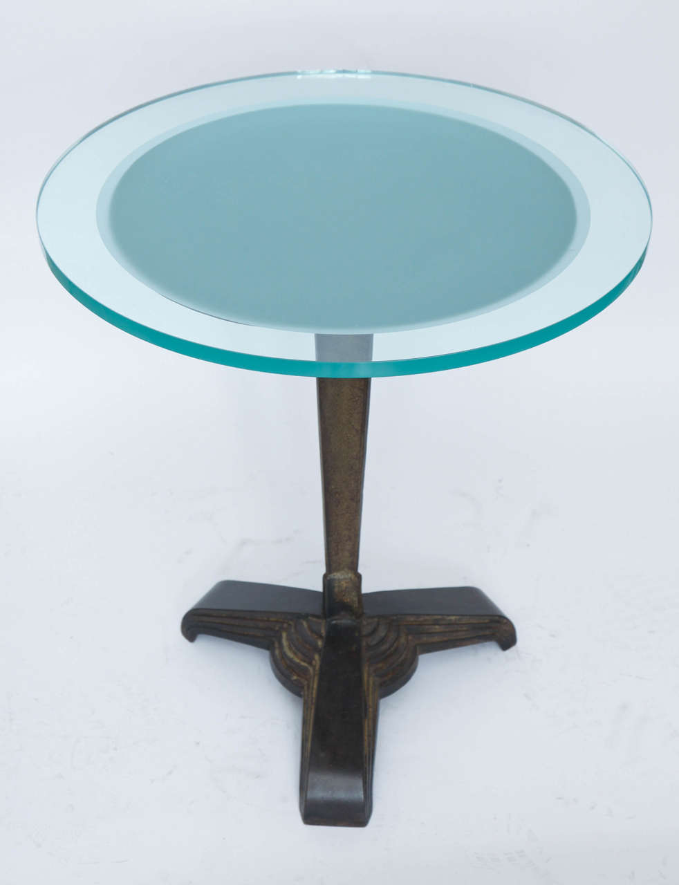 American 1920s Modernist Art Deco Table For Sale 1