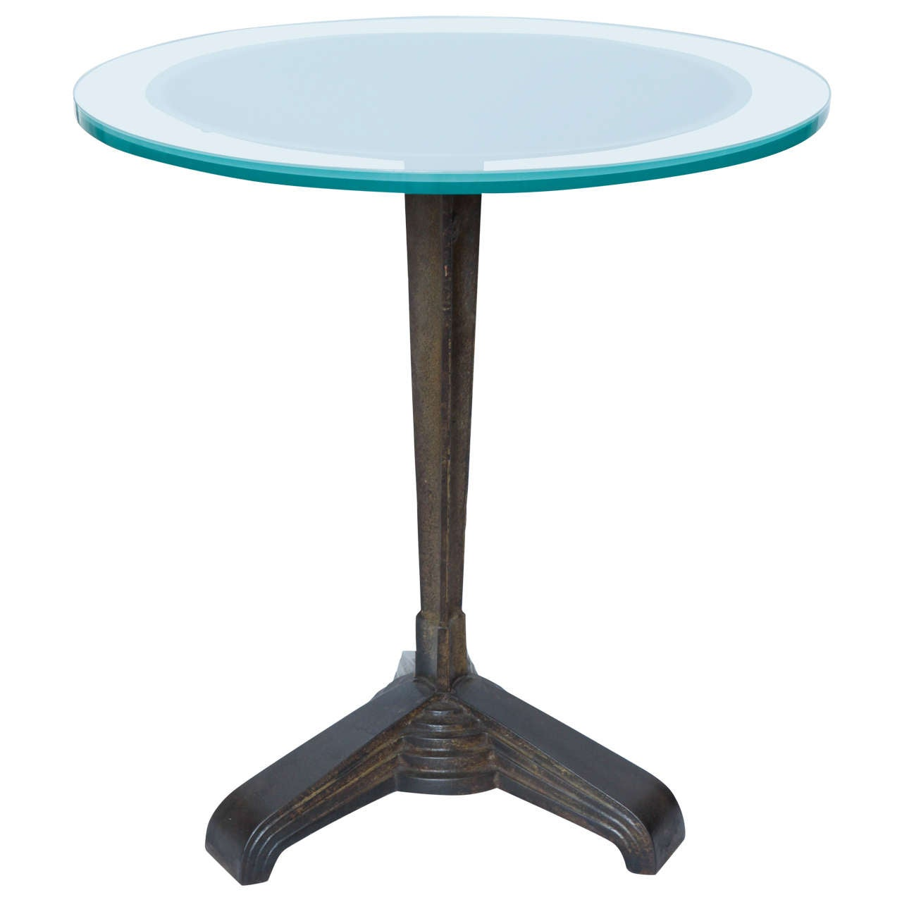 American 1920s Modernist Art Deco Table For Sale