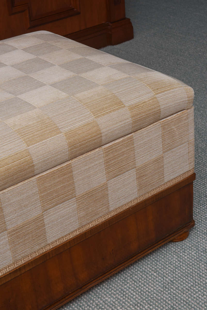 ottomans with storage austrian biedermeier cherrywood ottoman for at 10019