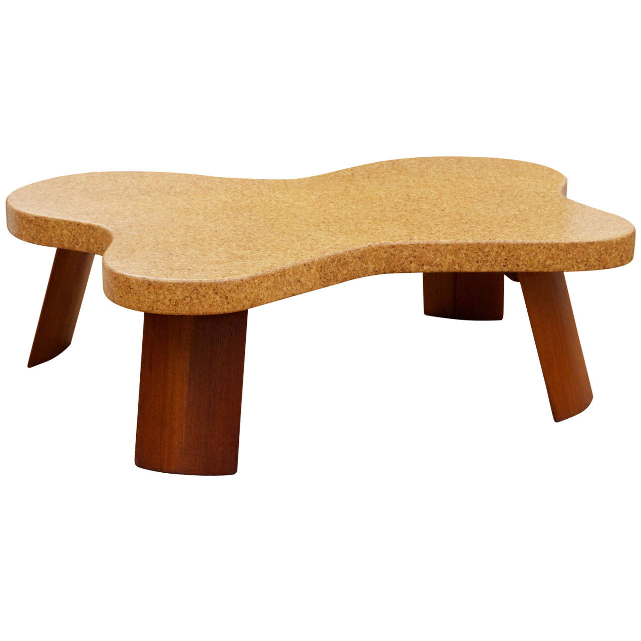 paul frankl cork top coffee table at 1stdibs On cork coffee table