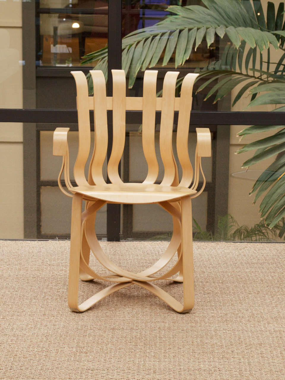 70s chairs is frank o gehry s cardboard chair wiggle side chair - Hat Trick Armchair By Frank Gehry For Knoll 2