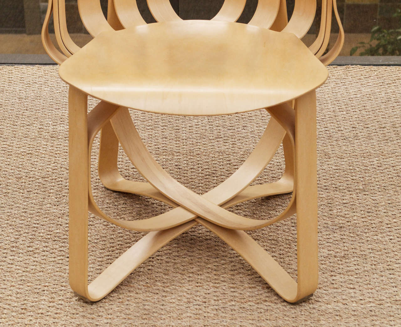 70s chairs is frank o gehry s cardboard chair wiggle side chair - Hat Trick Armchair By Frank Gehry For Knoll 3