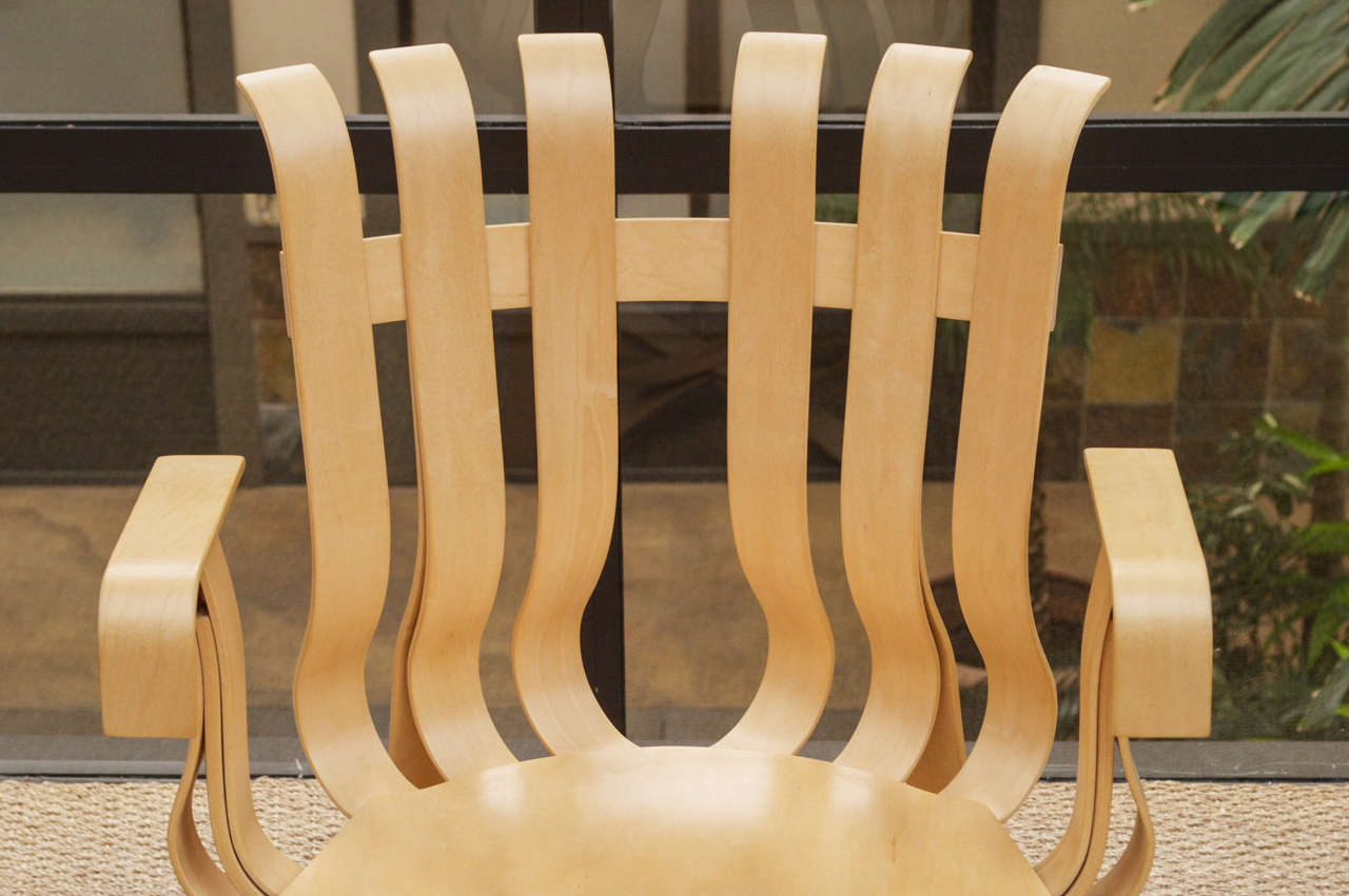 American Hat Trick Armchair by Frank Gehry for Knoll