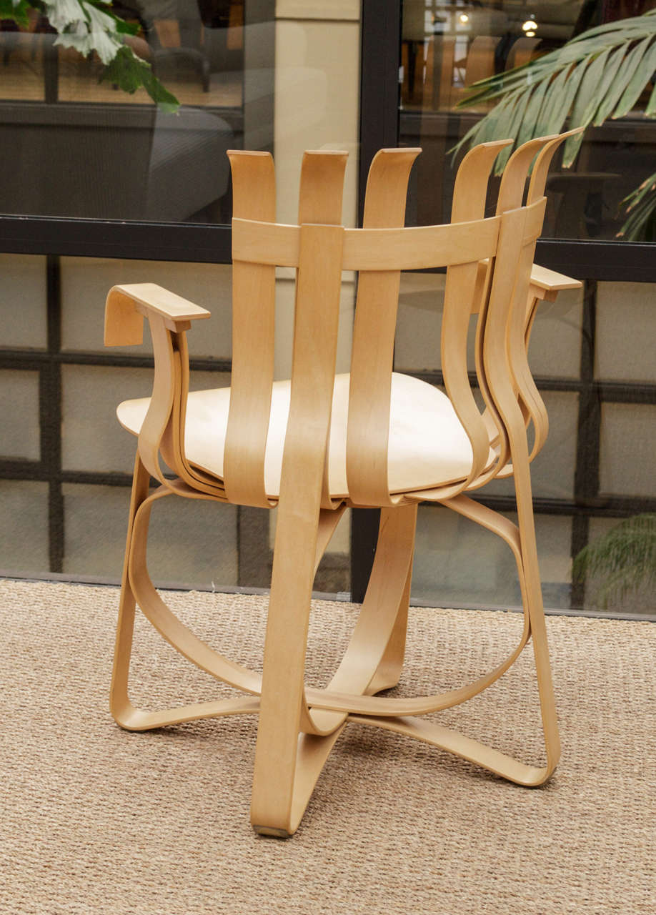 20th Century Hat Trick Armchair by Frank Gehry for Knoll