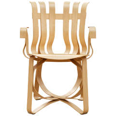 Hat Trick Armchair by Frank Gehry for Knoll