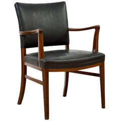 Ole Wanscher - Arm Chair of Rosewood and Leather