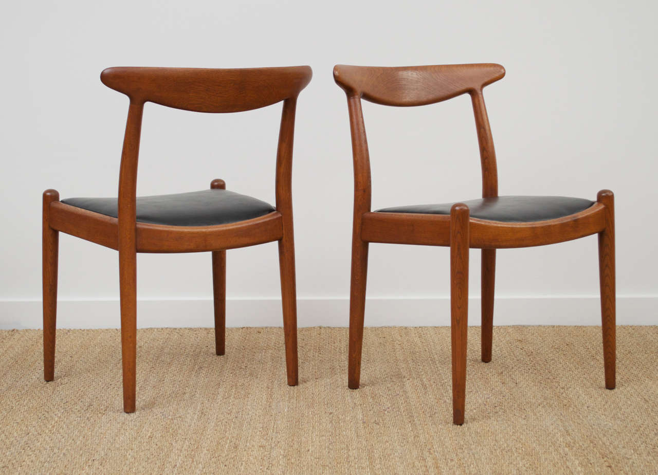 Hans Wegner Dining Chair, Model W2 2