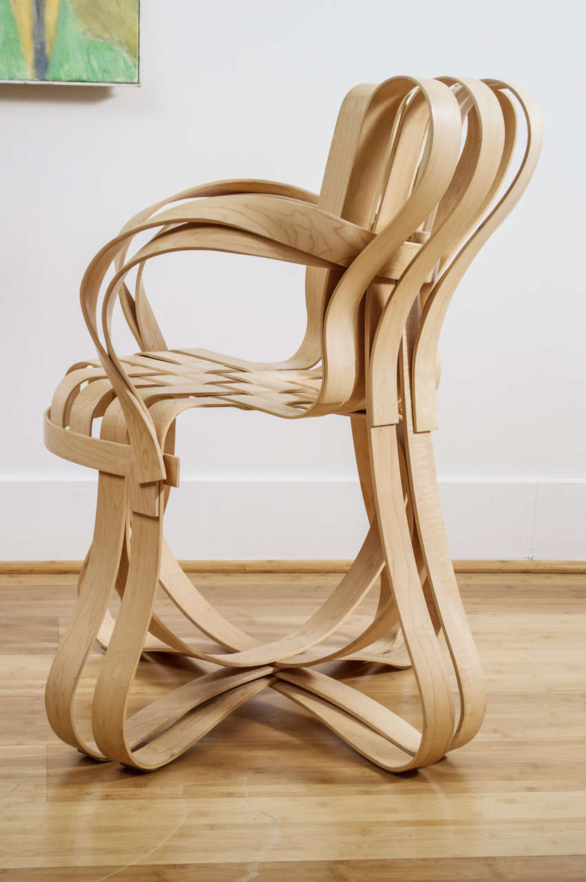 Frank Gehry Cross Check Chair At 1stdibs