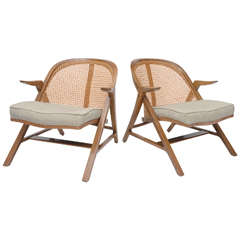 Edward Wormley A-Frame Lounge Chairs
