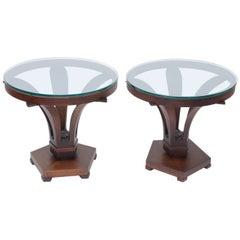 Edward Wormley Tulip  Side Tables