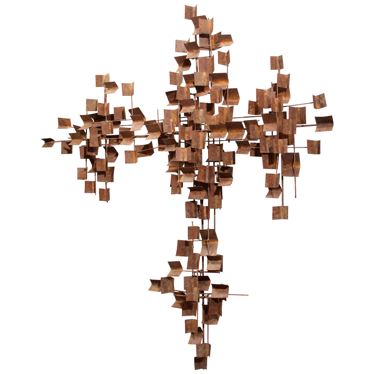 Rusted Wall Sculpture