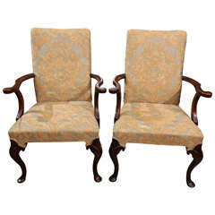 Pair of Fortuny Armchairs