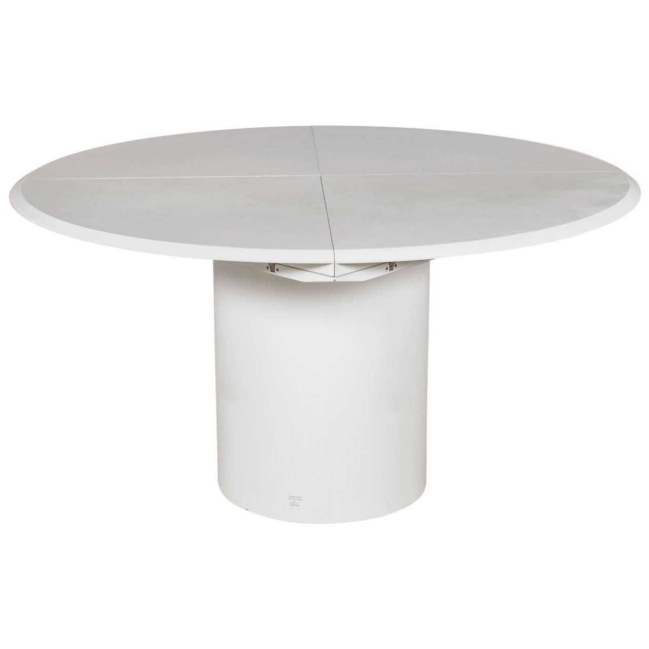Multifunctional round square and oval dining table for - Tisch oval weiay ...