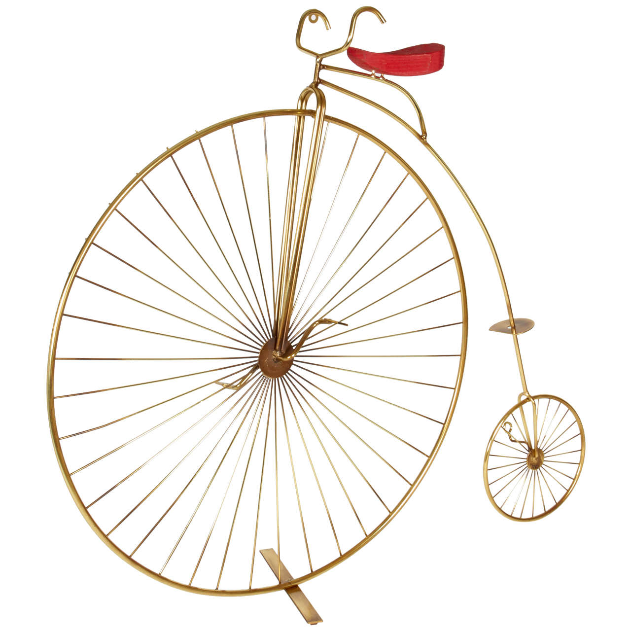 Curtis Jere Bicycle Tabletop or Wall Sculpture For Sale