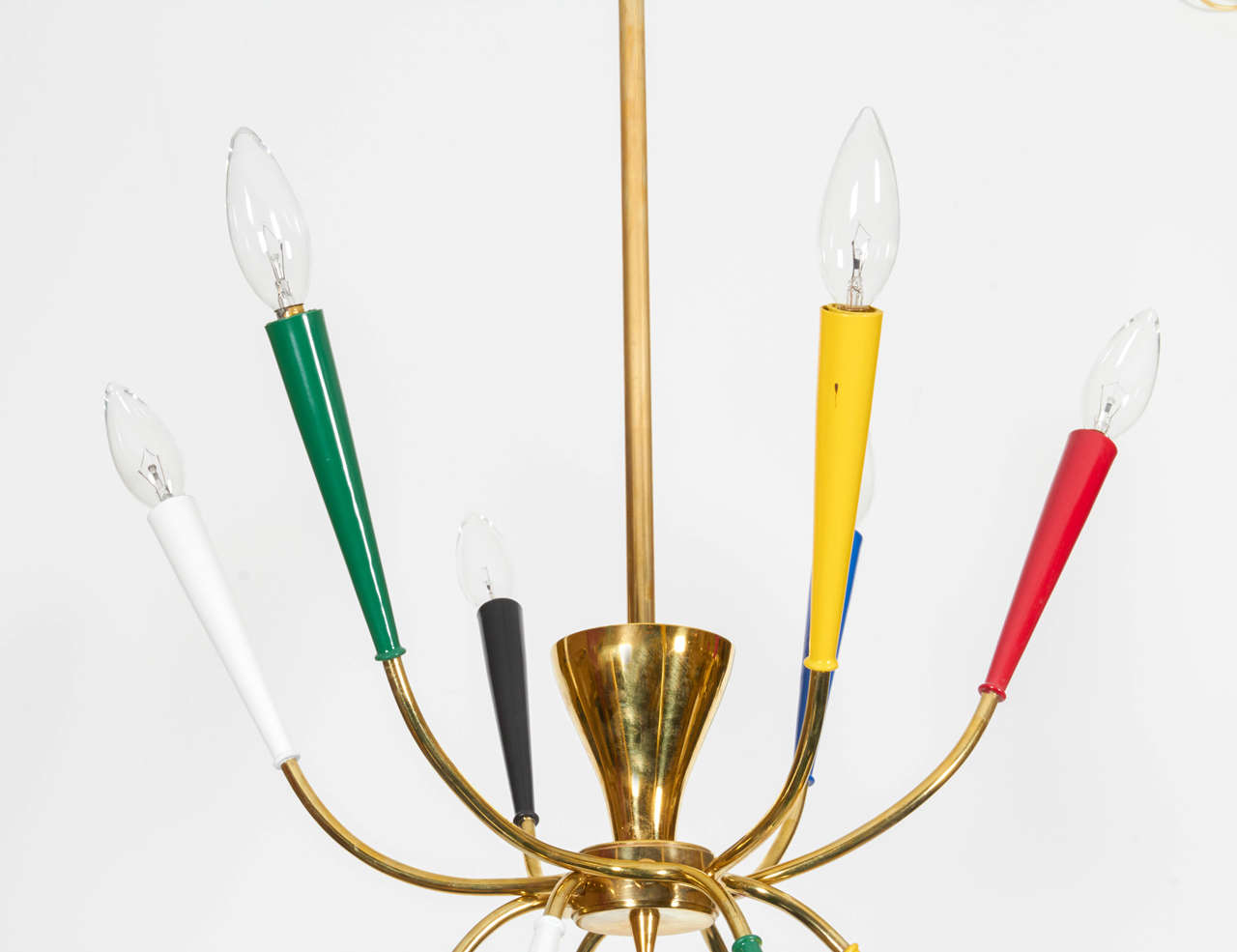 Wonderful Multi Configural Chandelier In The Manner Of
