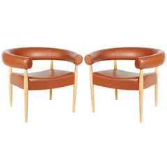 Pair of Nanna Ditzel Ring Chairs