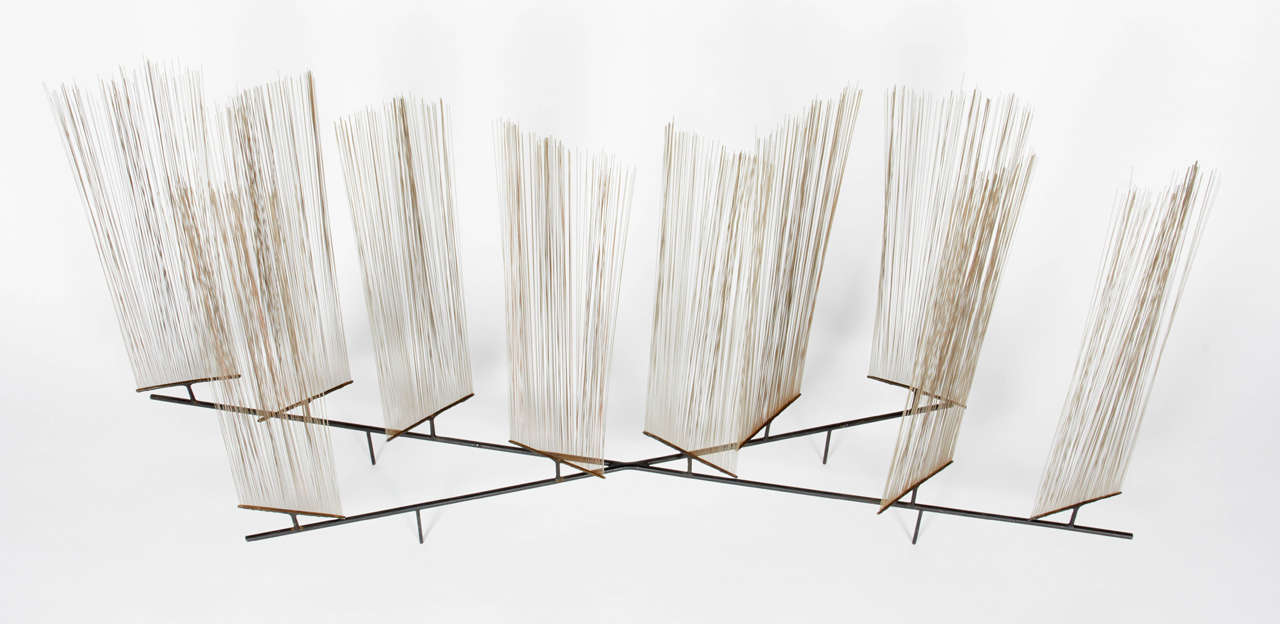 Harry Bertoia Early Wire Form Sculpture, Untitled 2