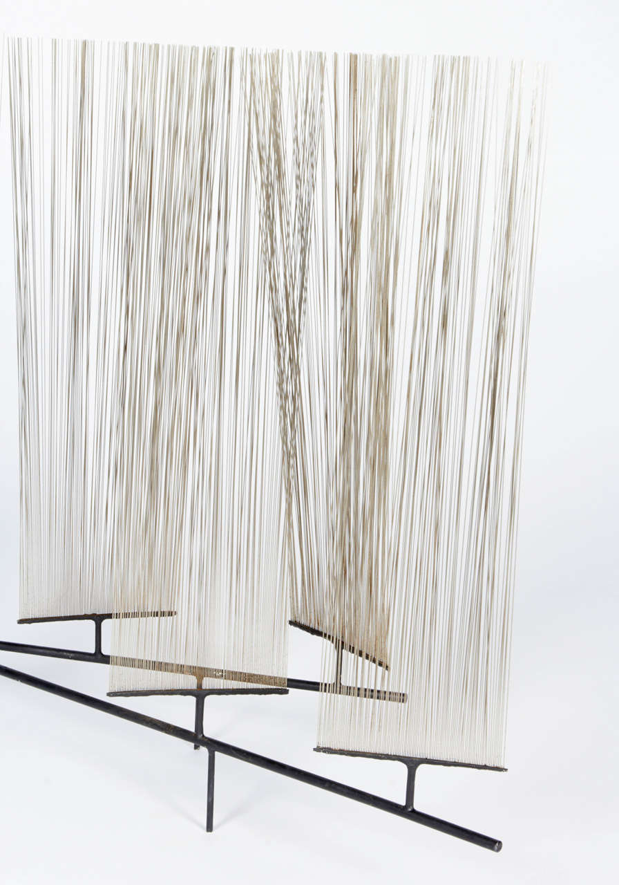 Harry Bertoia Early Wire Form Sculpture, Untitled 8