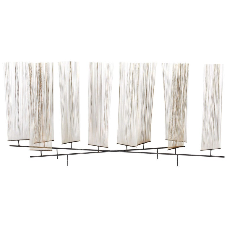Harry Bertoia Early Wire Form Sculpture, 1952 For Sale