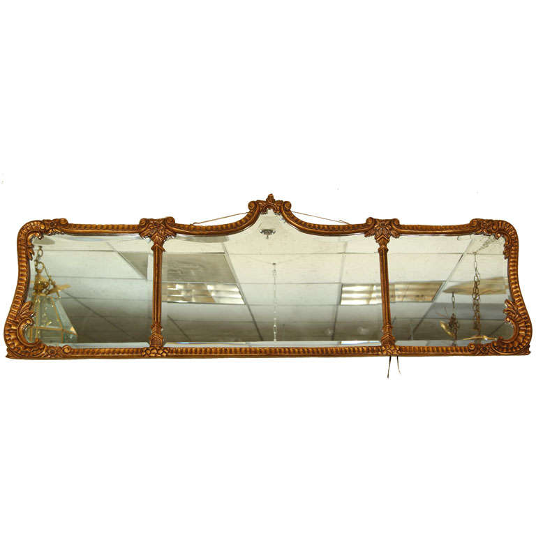 Over mantle mirror at 1stdibs for Mantle mirror