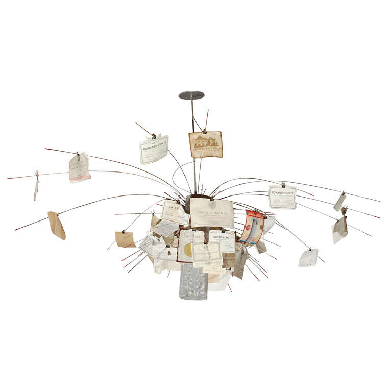 Zettelz 5 chandelier by ingo maurer for sale at 1stdibs aloadofball Image collections