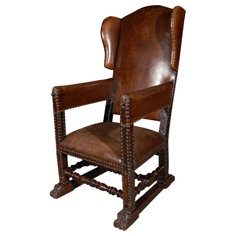 Continental baroque mechanical fauteuil for sale at 1stdibs - Fauteuil baroque ikea ...