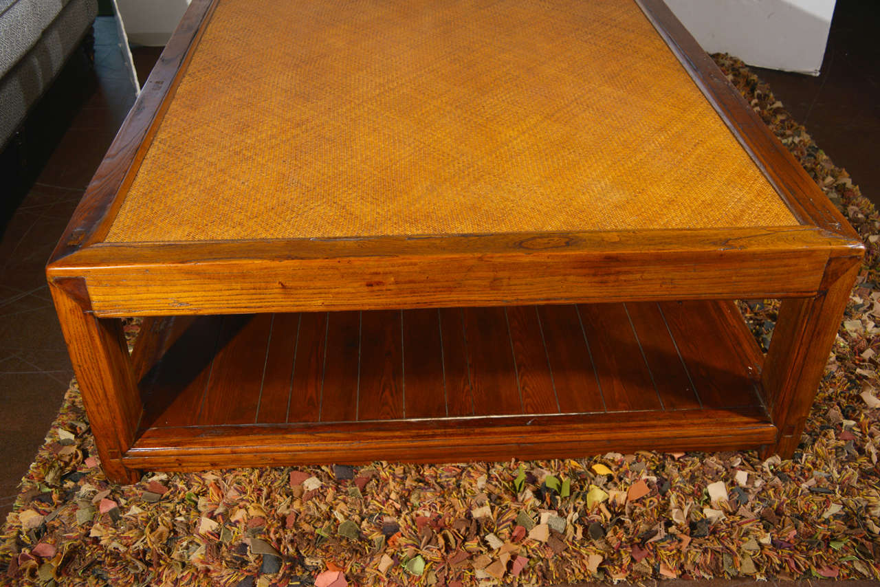 Antique Elm Day Bed As Coffee Table At 1stdibs