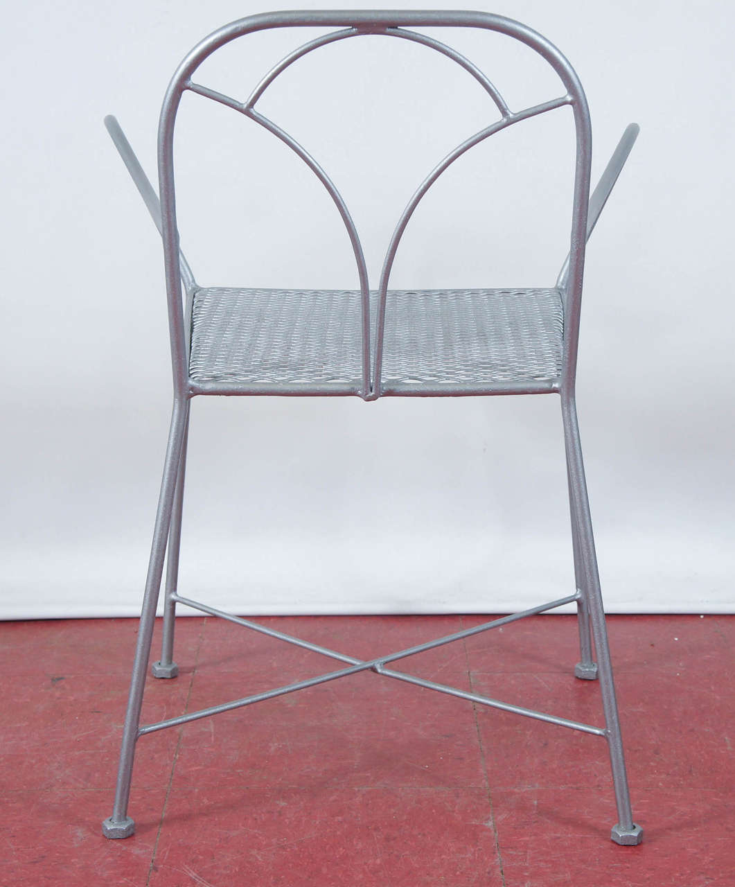 Six Art Deco Parisian Garden Chairs For Sale at 1stdibs