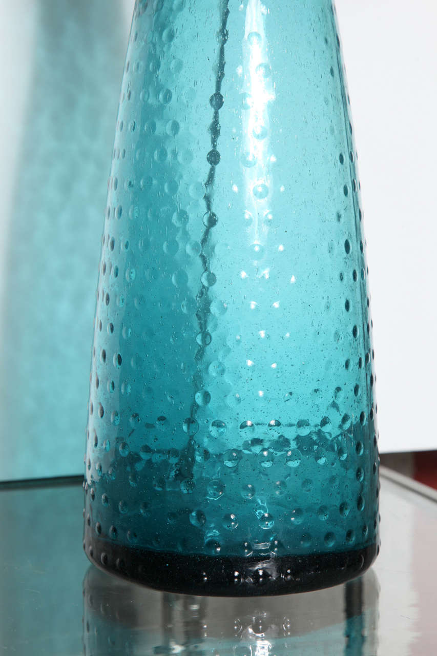this pair of turquoise art glass table lamps is no longer available. Black Bedroom Furniture Sets. Home Design Ideas