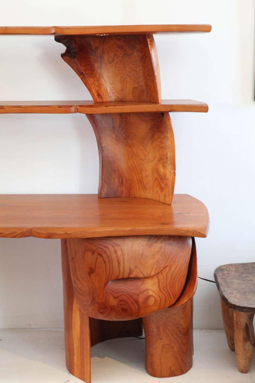 Scott Jaster Studio Organic Carved Desk 3