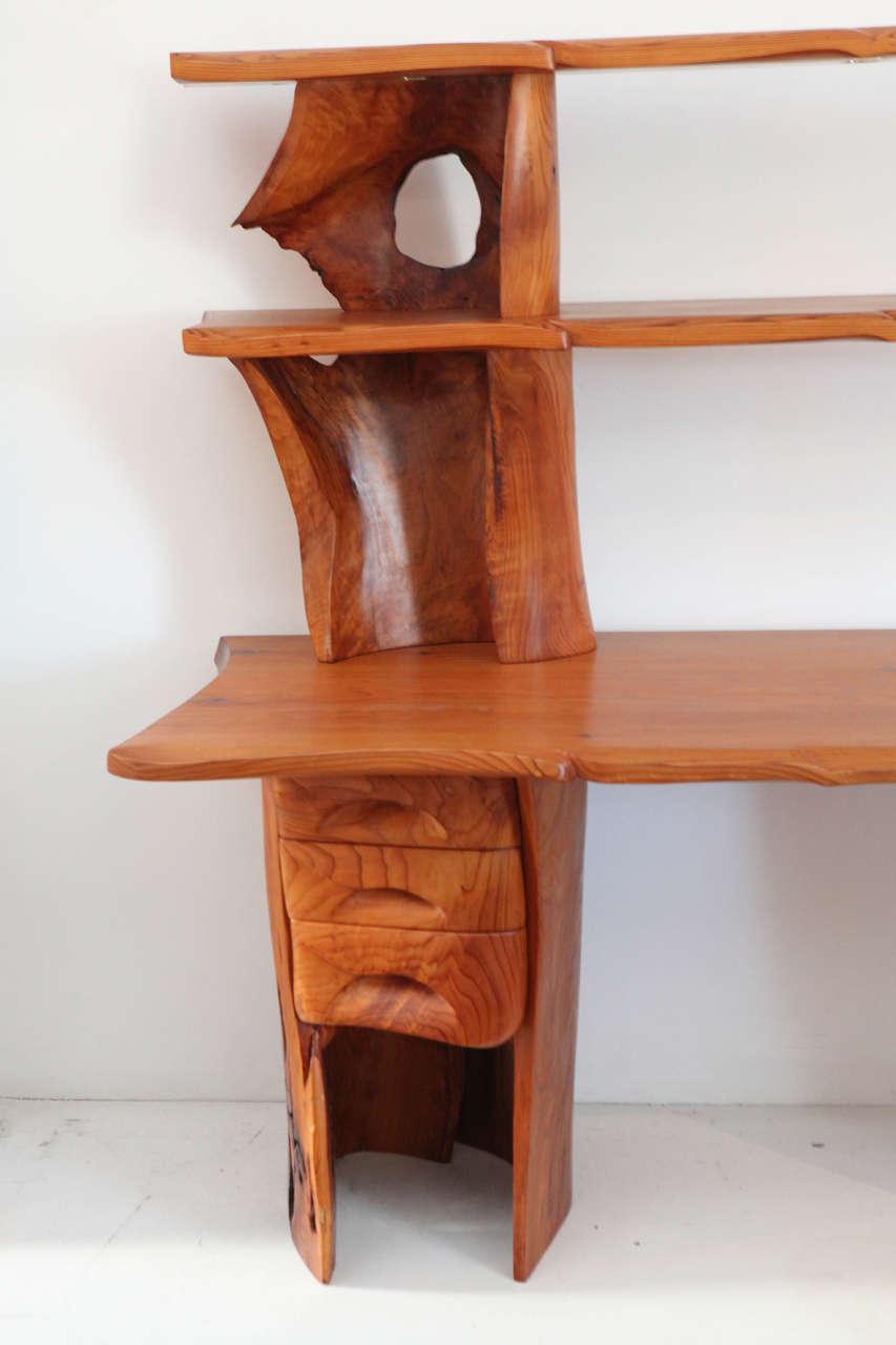 Scott Jaster Studio Organic Carved Desk 4