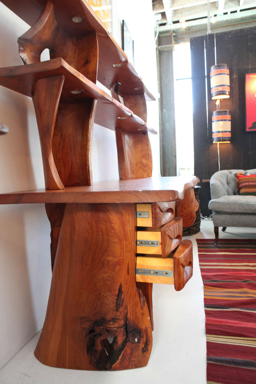 Scott Jaster Studio Organic Carved Desk 6