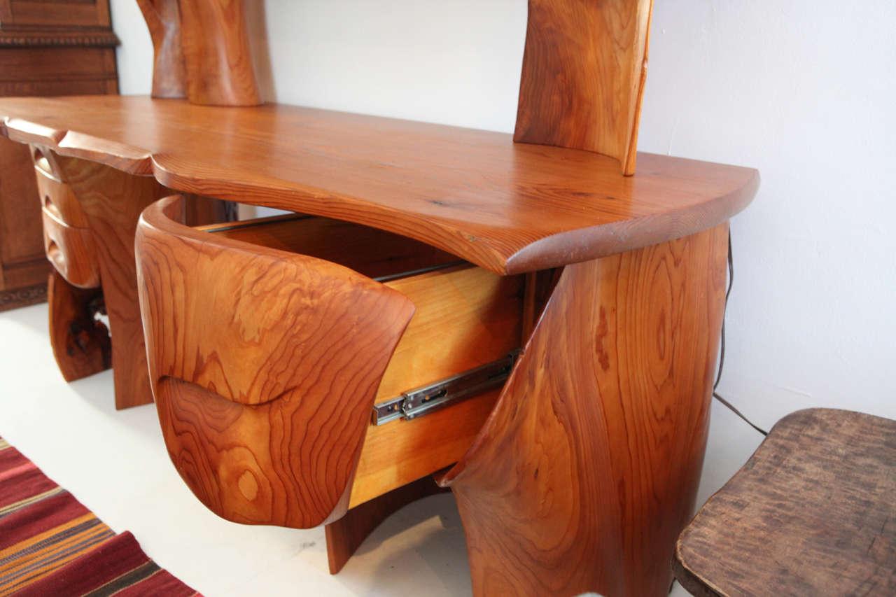 Scott Jaster Studio Organic Carved Desk 7