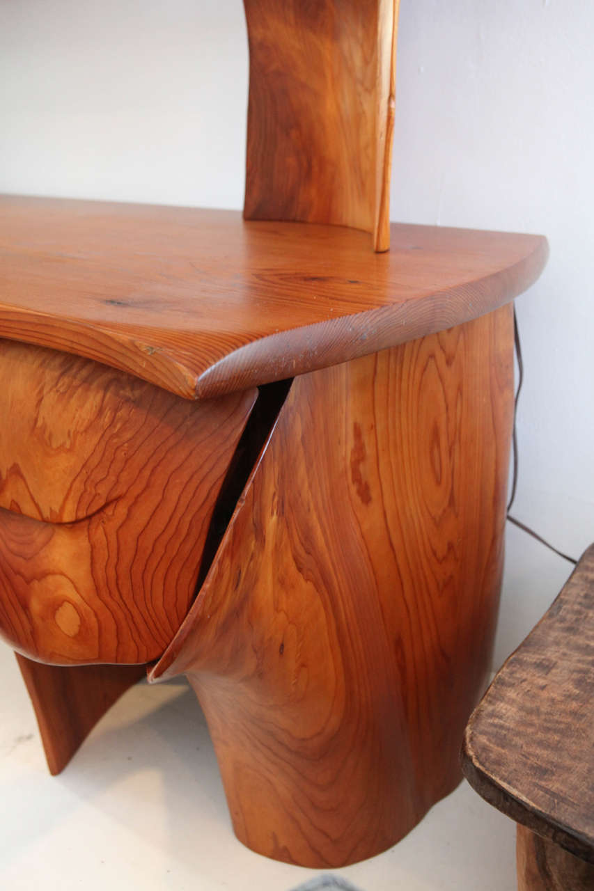 Scott Jaster Studio Organic Carved Desk 8