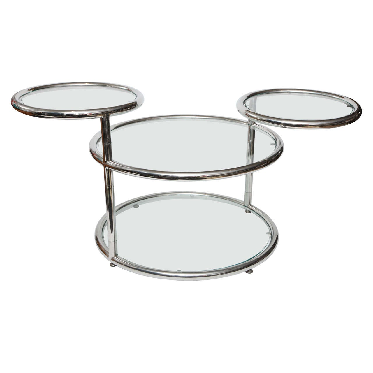 Chrome Coffee Table At 1stdibs
