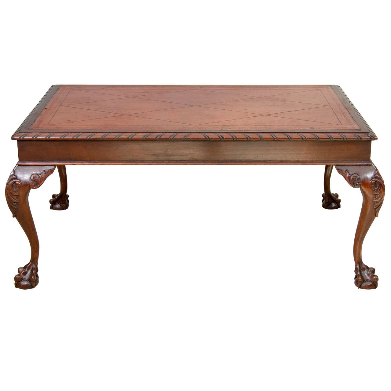 Us Chippendale Style Coffee Table At 1stdibs