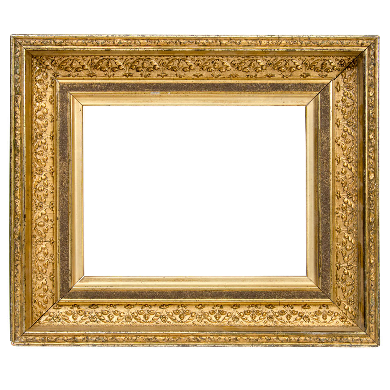 Diminutive Victorian Gilt Cove Frame at 1stdibs